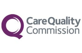 Care Quality Commission logo for home carers in london