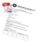 Soma healthcare application form for home carers in london