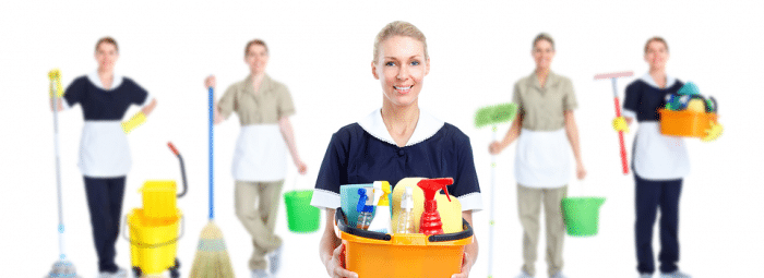 Blitz Cleaning with home care support