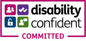 Disability, Confidence, Committed logo for home carers in London