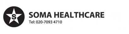 Soma healthcare logo home carer agency in London