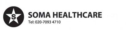 Soma healthcare logo home carer agency in London